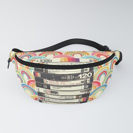 VHS & Rainbows Fanny Pack