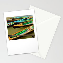 Burmese Water Taxi Stationery Cards