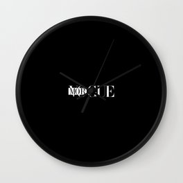 MORGUE Wall Clock