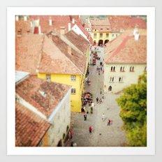Transylvania V Art Print
