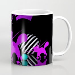 mooncat's evening play Coffee Mug