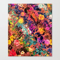 Floral and Birds II Canvas Print