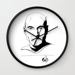 Jean-Luc Picard Wall Clock