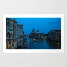 Dusk of St. Marks Art Print