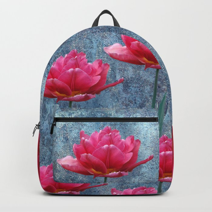Pink Tulip Backpack
