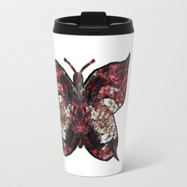 Butterfly fractal Travel Mug