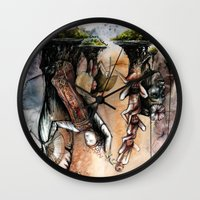 indonesia Wall Clocks featuring Indonesia by Andreas Derebucha
