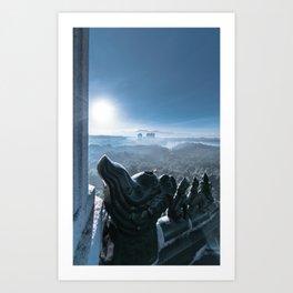 Cold Steel Guardians Art Print