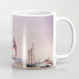 Tall Ships in Boston -USCG Coffee Mug