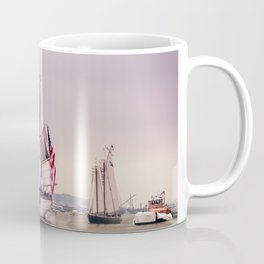 Tall Ships in Boston -USCG Coffee Mug