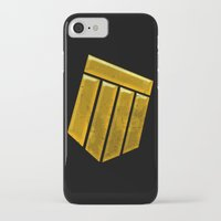 agents of shield iPhone & iPod Cases featuring Shield by Emma Harckham