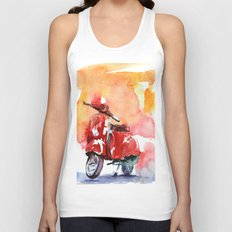 Scooter Unisex Tank Top