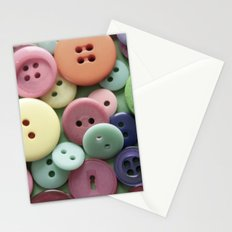 Buttons, Buttons, Galore Stationery Cards