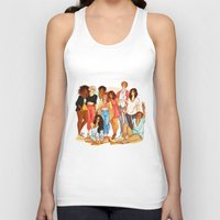 marauders Tank Tops featuring Marauders' Era group picture by Miho