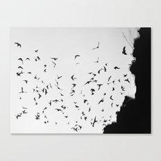 Black November Canvas Print