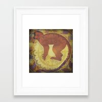 journey Framed Art Prints featuring Journey by SpaceFrogDesigns