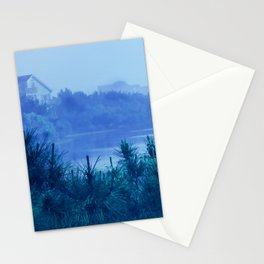 Beach Blue Stationery Cards