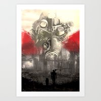 Fallout Variant poster Art Print