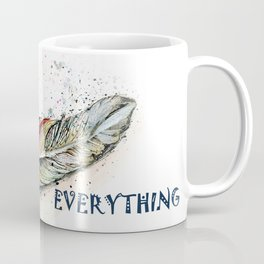 Tribal Boho Style Feather Coffee Mug