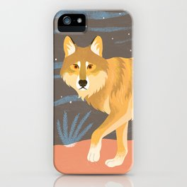 The Mexican Wolf iPhone Case
