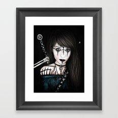 Voices in the Dark Framed Art Print