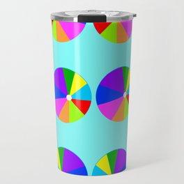 Colorful Beachballs Playroom Art  Travel Mug