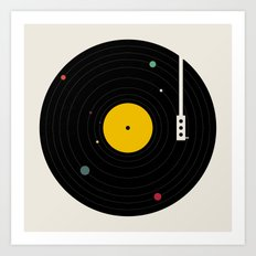 Music, Everywhere Art Print