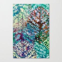 Colorful leaves II Canvas Print