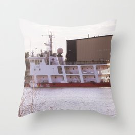Coast Guard passing Throw Pillow