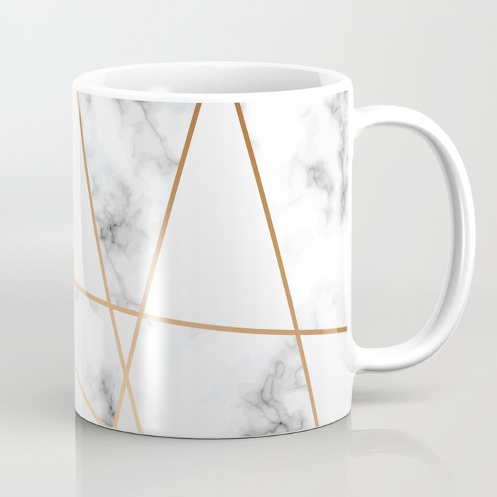 Marble Geometry 054 Coffee Mug