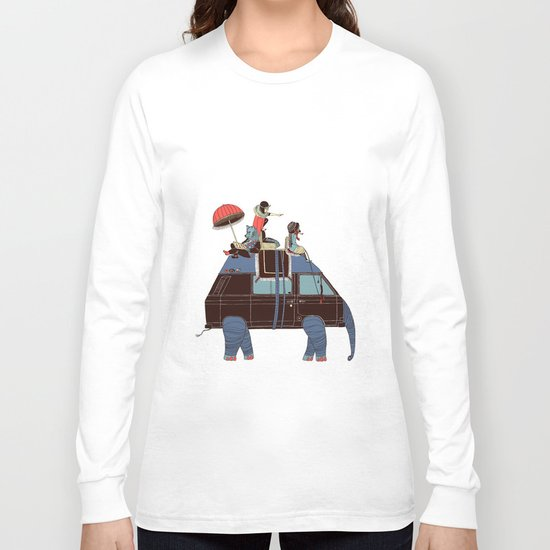 Going by Elephant Long Sleeve T-shirt