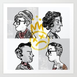 Young Bloods Art Print