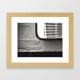 Mirror-Window Framed Art Print