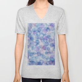 Drops and drips Unisex V-Neck