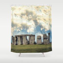 Stonehenge V Shower Curtain