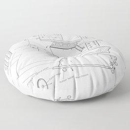 Korg VC-10 - exploded diagram Floor Pillow