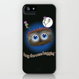 Wee Haggis by Night iPhone Case