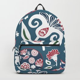 Nature's Glamour Flowers #society6 #decor #wallart Backpack