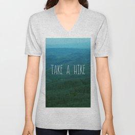 Take A Hike Unisex V-Neck