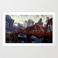 The Broadway Art Print