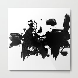 Glenn Gould - Canadian Pianist Metal Print