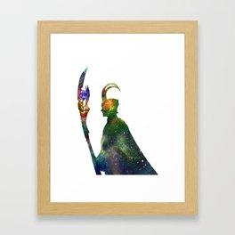 star loki Framed Art Print
