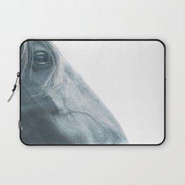 Horse head - fine art print n° 2, nature love, animal lovers, wall decoration, interior design, home Laptop Sleeve