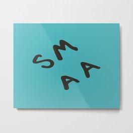 Senior Scribe SM AA Metal Print