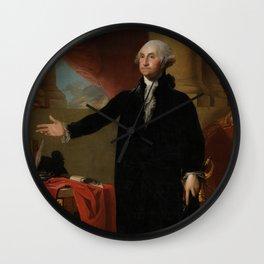 George Washington Lansdowne Portrait Wall Clock