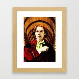 Oscar Wilde 1854-1900 Framed Art Print