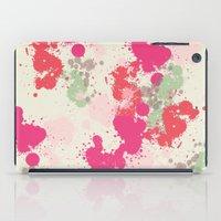 splatter iPad Cases featuring Splatter by C Designz