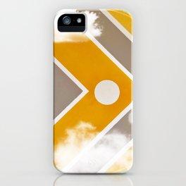 Fish - clouds iPhone Case