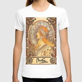 Vintage poster - Zodiac T-shirt