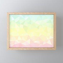 Pretty Pastels - Flipped Framed Mini Art Print